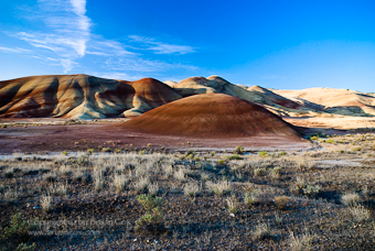 Photo of the John Day painted hills